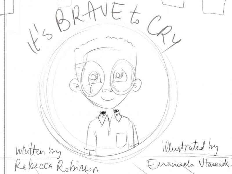 Brave to Cry Sketch
